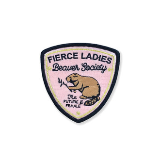 Beaver Society Patch