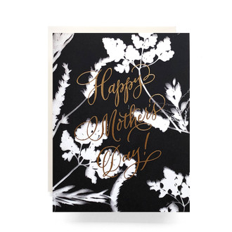 Sunprint Mother's Day Greeting Card