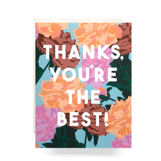 Thanks Roses Greeting Card