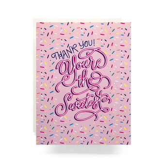 The Sweetest Sprinkles Greeting Card