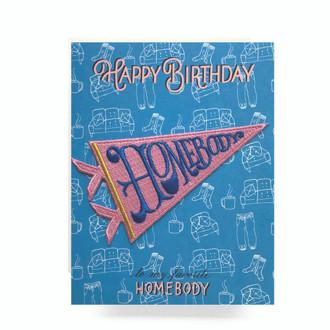 Patch Greeting Card | Homebody Birthday