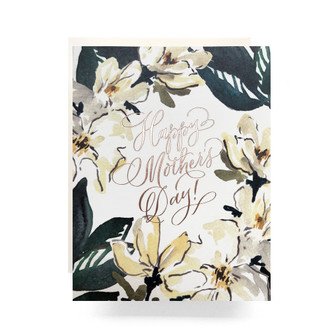 Magnolia Mother's Day Greeting Card