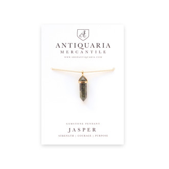 Gemstone Pendant,  Jasper