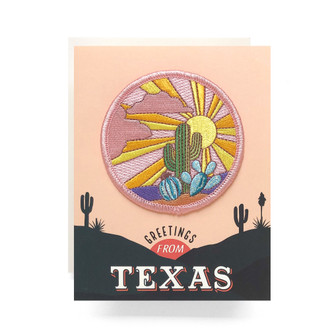 Patch Greeting Card | Texas