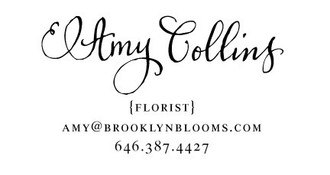 """""""Calligraphy Accent"""" Calling Card Stamp"""