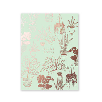 Mint Plant Lover, A2 Pocket Jotter
