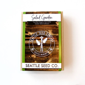 Organic Seed Collection - Salad Garden