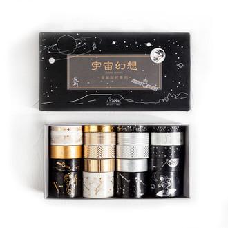 Washi Tape Box Set, Cosmic Fantasy Set of 20