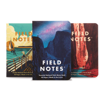National Parks Memo Books - Series A