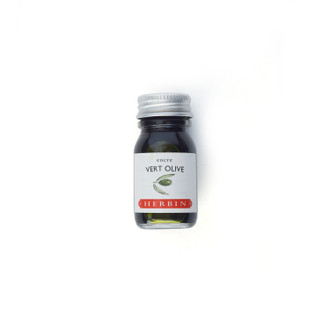 Herbin Fountain Ink Bottle, Vert Olive