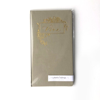 Vows Notebook- Green