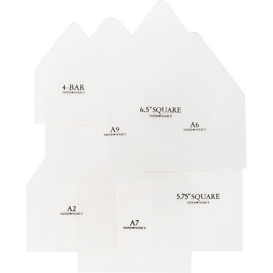 Envelope Liner Templates Antiquaria