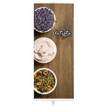 """Portable Roll Up Banner Stand - 33.5"""""""