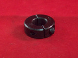 "LOCKING COLLAR, BLK 5/8"" 2PC"