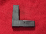 FITTING, CORNER JUNCTION PLASTIC BLK 2-WAY CORNER JOINT