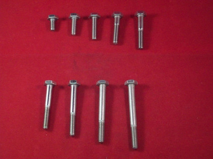 18-8, 1/4-20 Hex Head Bolts