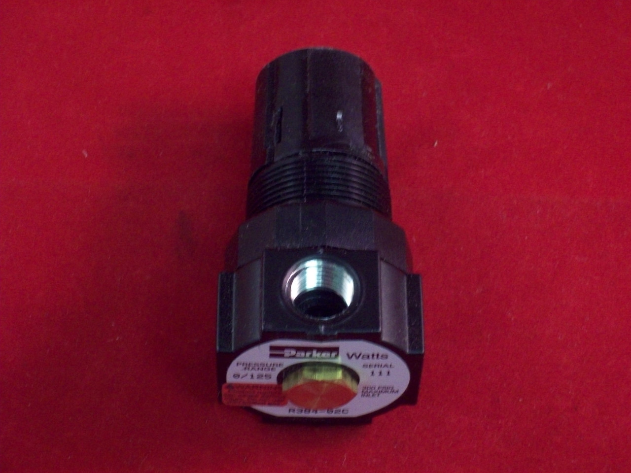 Watts Parker Regulator Miniature 1 4 0 60 Psi E Pak