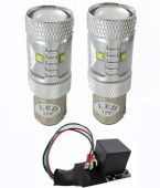 MP-1157-BLT-RED-KIT Rear turn LED lamp kit
