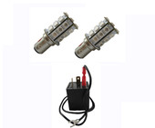 MP-1157-RFB-KIT-AMBER  New RFB Ultra-bright front parking/turn lamps