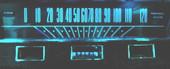 MP-6456-LED-GA-XP-AQUA Ultra Bright LED Gauge lamps