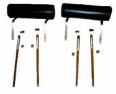 MP-HR-BLK Black 64-66 Rotunda Headrest