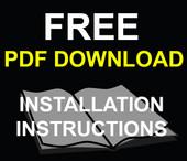 Free Download- LED Dash Lamp Kit Installation Instructions