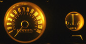 Model MP-66-LED-GA-AMBER - NEW from Mustang Project LED lamps for your gauges. Finally see your gauges at night with cool running lifetime LEDs 3-4X brighter than the old incandescent lamps! For the 65-66 Mustangs with 5 gauge cluster.