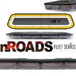 "nROADS Fleet Series Dual Color Amber/White 48"" Lightbar"