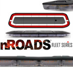 "nROADS Fleet Series Dual Color Red/White 48"" Lightbar"