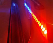 Emergency Scene Light Dual Colors Single Row ESL