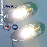 TecNiq E60 Recess Mount Multipurpose Light 2 pack