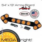 Arrow Board Mega Bright Amber 54X13
