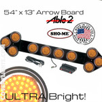 Arrow Board Ultra Bright Amber 54X13