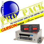 PRO Pack 10 CARSON SA 361 Defender 100 Watt Under cover Siren