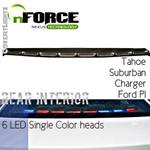 nFORCE® Interior Lightbar Rear Single Color 6 LED