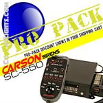 PRO Pack 12 Carson SC-550 200w Police Siren