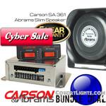 CARSON SA-361 & 100w Abrams Slim Speaker Bundle