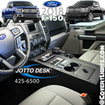 425-6500 Jotto F-150 SSV/PR F250-500 (2018+) Contour Console with Locking Lid