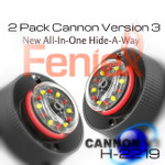 2 Pack New V3 All in ONE Feniex CANNON Hide-A-Way