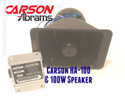 CARSON HA-100 In Cab Studder Horn Amp  & ECO speaker bundle