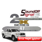 "2X SERIES Amber 47"" Lightbar from SoundOFF Signal"