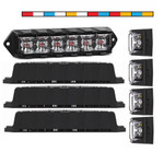 4 Pack V3 Dual Color Feniex Fusion Surface Mount Lights