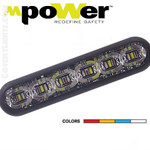 "SoundOFF mPOWER 4"" Fascia lights  Single Color Quick Mount"