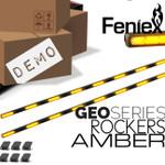 DEMO AMBER Feniex GEO Rocker Set