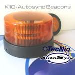 Autosync Beacon K10-AADP-1  TECNiq K10 AMBER BEACON