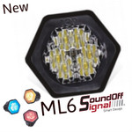 SoundOFF ML6 Flush Mount light