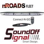"""SoundOFF Connect N GO 36"""" NRoads FLEET Lightbar with Controller"""