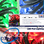 D05-3000-1 RGB TecNiq Waterproof Aerial Ladder Lights