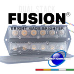 NEW Feniex FUSION Dual Stack Surface Mounts with Single Color Modules
