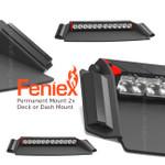 New Permanent Mount Fusion 2X DECK Dash Light Dual color
